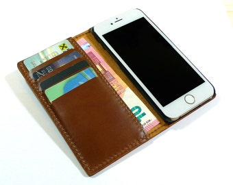 Handmade iPhone 6 Case, iPhone 6 Plus Wallet, Leather iPhone 6 Wallet, iPhone case