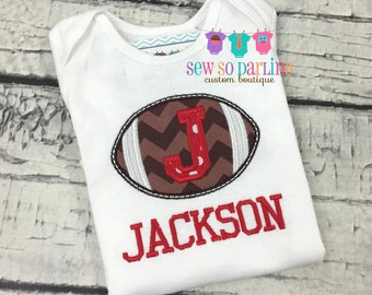 Baby Boy football outfit - Baby Football outfit - personalized outfit baby boy- baby boy clothes