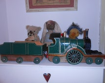 emily engine handmade recycled wood toy train thomas the tank reverend awdry story
