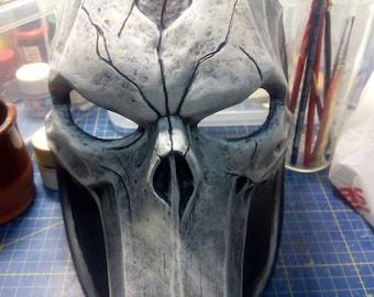 Darksiders 2, death mask, skull, dead, cosplay costume, props