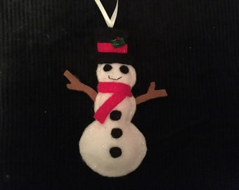 Felt Snowman Christmas Decoration
