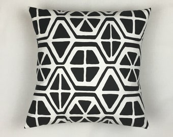 Couch Pillow Cover - Decorative Pillows for Couch - Pillow Covers - Black Pillow Covers