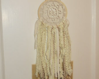 Small Vintage Doily Dreamcatcher
