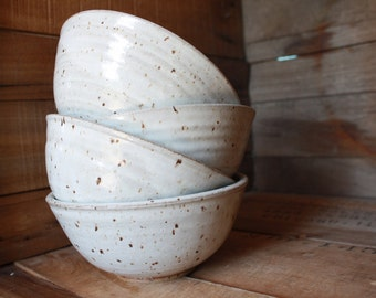 Bowl - Made to Order Bowls - Cereal Bowls - Salad Bowls - Ceramics & Pottery - Dinnerware - Handmade Bowls - KJ Pottery