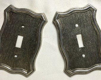 Vintage Switch Plates (pair) - 1968 - New Old Stock