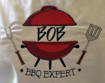 Custom BBQ Apron with pockets