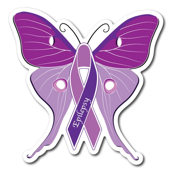 Toys For Epilepsy : Set of epilepsy awareness sticker decal or magnet