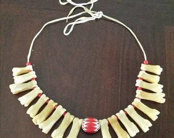 Deer Toe Bone Necklace