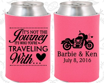 Its not the Journey, Its who your traveling with, Unique Wedding, Motorcycle Wedding, Destination Wedding, Destination Favors (456)