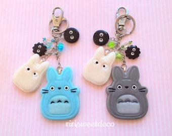 Kawaii Totoro Keychain/Charm - 1 pcs