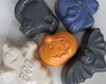 Fall Soap/Soap Set of 5, handmade soap, natural soap, kids soap, natural hand made soap, cold process soap, kids gift soap, children's soap