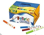 Fabric Markers for Coloring Page T-Shirt