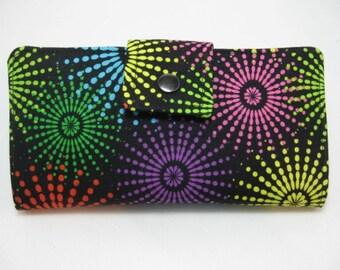 Handmade Womens Wallet, Clutch Wallet, Bifold Clutch