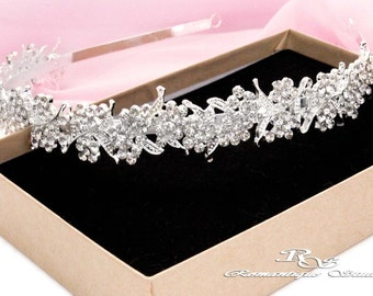 Bridal headband, Crystal headpiece head piece, Wedding rhinestone headband, Crystal headband, Wedding headband Bridal headpiece vintage 3142