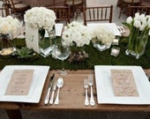 Wedding artificial x1 Moss/Grass table runner centrepiece... Perfect for a rustic country garden wedding theme...
