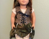 Pirate Princess Dress for 18 inch Doll
