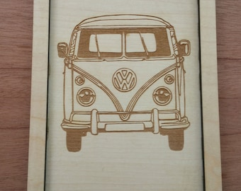 VW Key Tray,   Fathers Day Volkswagen Key Tray