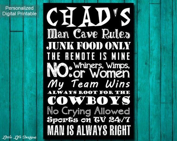 Personalised Man Cave Gifts : Men s gift personalized gifts for sports man cave
