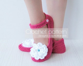 Crochet pattern: women slippers with DIY felt soles,loafers,mary janes,home shoes,women,girl,adult,teen,shoe making,footwear