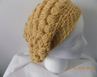 21---Autumn Maize Hat with band