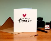 To My Fiancé Card - Suitable for Birthday, Valentines, Engagement or any other occasion - blank inside. Free UK shipping!