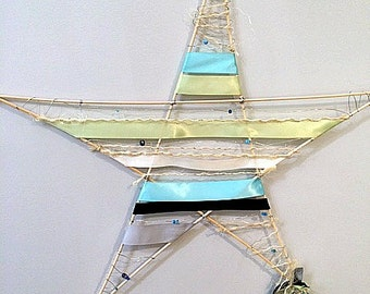 Star Wall Art primitive wall art | etsy