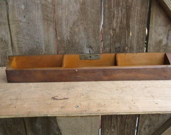 """Antique OakTilt Out Drawer Perfect """"catch all"""" for holding all the little things in life"""