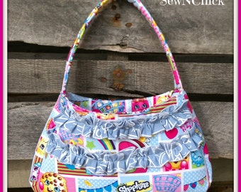Toddler Purse With Optional Ruffles