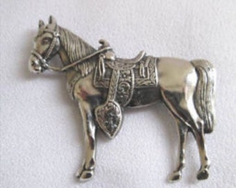 1939 Maisel's Indian Trading Post horse pin.