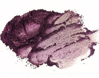 DARK ANGEL Mineral Eyeshadow - Purple Eye Color Shimmery Eye Shadow - Gluten Free Mineral Makeup Pigments