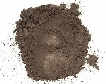 COFFEE BEAN Mineral Eye Shadow - Natural Matte Makeup - Gluten Free Vegan Face Color