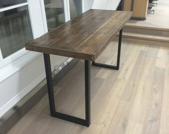 "Reclaimed Wood ""Jules"" Poseur / Bar / Café Table"