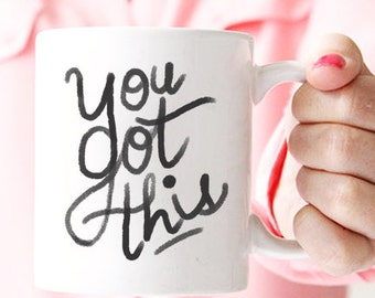 you got this mug, coworker, gift for coworker, coworker leaving, goodbye gift, farewell gift, moving away gift, going away gift MU118