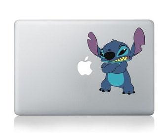 """MacBook Stitch thinking Apple Vinyl Decal Sticker For MacBook Pro/Air 13"""""""