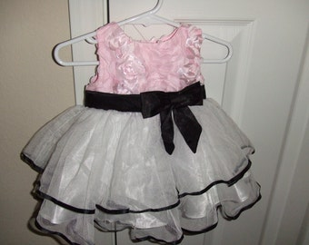 Baby Party Dress 3-6 Mos.