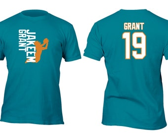 Limited Edition Teal Dolphins Grant Opt 3 Football Shirt All sizes up to Plus 5x