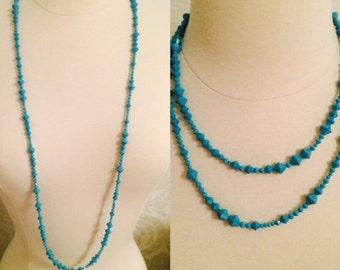 Turquoise Swarovski Necklace