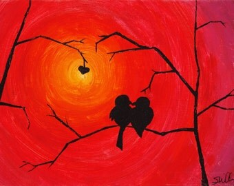 Love Bird Series *Sunrise*