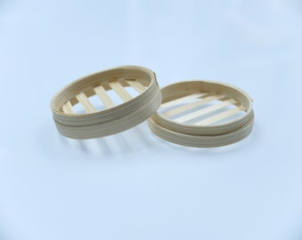 2pc Miniature Steamer Chinese Dim Sum (4.5 * 1cm) - miniature bamboo steamer, Miniature Basket, DimSum Steamer, Mini Steamer, Mini Steam Bun