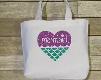 Mermaid beach tote | Etsy
