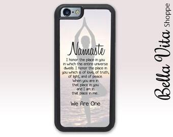 iPhone 5 Yoga Case - Namaste Prayer - iPhone 5S Yoga Case I5S