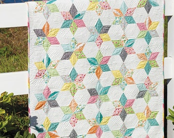 "Sprinkles Pattern by Jaybird Quilts, measures 37""  x 44"""