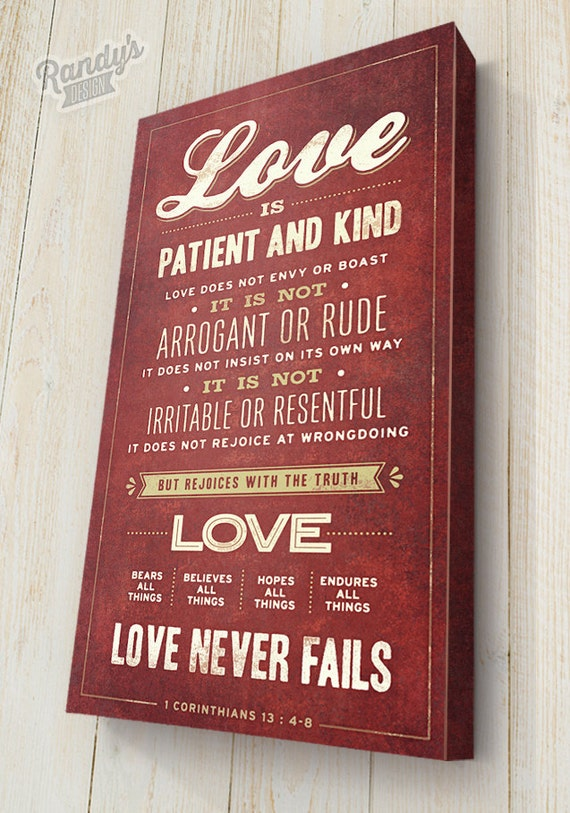 Love Is Patient And Kind 1 Corinthians 13 4 8 Love Never