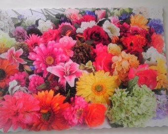 Jigsaw Puzzle Amazing Flowers over 250 pcs Puzzle Wooden Jigsaw Puzzle Custom Puzzle Hand Cut Puzzles