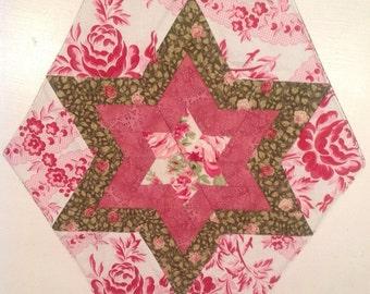 Christmas Star. Patchwork Star. Star.