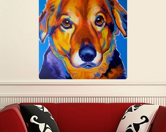 Riley Retriever Dog Wall Decal - #59968