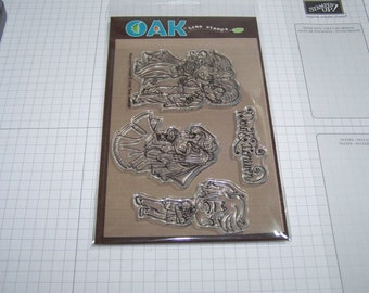 Oak Tree Stamps -Now And Forever