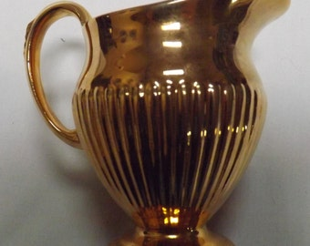 Royal Winton Grimwades Gold Creamer