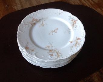 New Price Limouge Haviland & Co. St Lazare plates