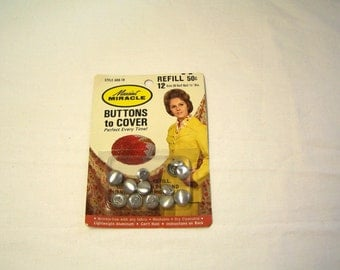 new/old stock refill kit from Maxiant Miracle buttons to cover